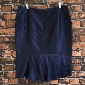 Lafayette 148 New York Pencil Skirt 14